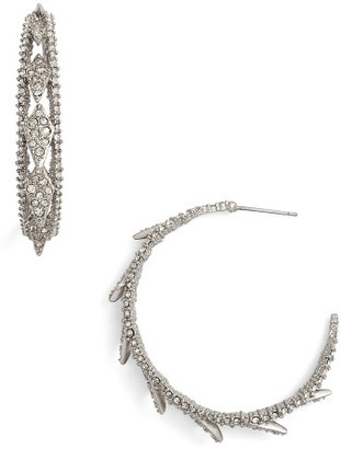 Women's Alexis Bittar Crystal Encrusted Hook Earrings $195 thestylecure.com