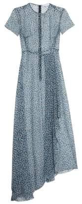 Jonathan Saunders Nicole dot-print silk maxi dress