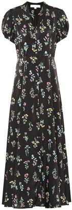Caroline Constas Printed crepe dress