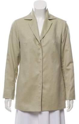 Akris Button-Up Lightweight Jacket