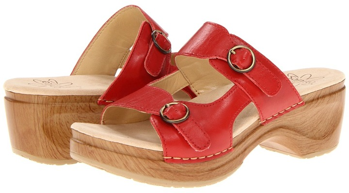 Sanita Deanna (Red) - Footwear