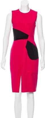 Prabal Gurung Two-Tone Knee-Length Dress