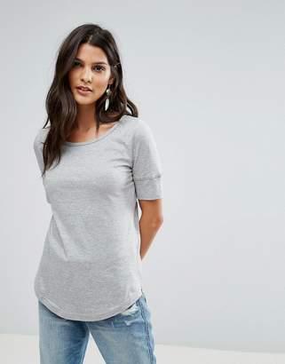 Brave Soul Gina Scoop Neck T Shirt