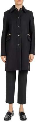 Gerard Darel Phanie Stretch-Wool Coat