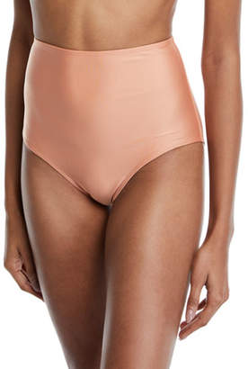 Agua de Coco Cruzeiro High-Waist Bikini Swim Bottoms