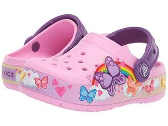 1a02b896c Crocs CrocsFunLab Butterfly Band Lights Clog (Toddler Little Kid)