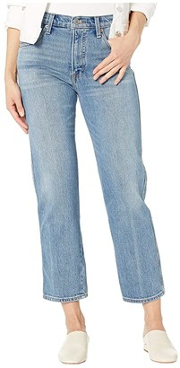 Lucky Brand Authentic Straight Crop Jeans in Louise