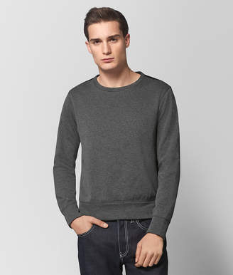 Bottega Veneta NEW LIGHT GREY COTTON SWEATER
