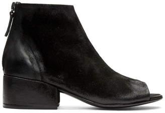 Marsèll Black Cubetto Tronchetto Sandal Boots
