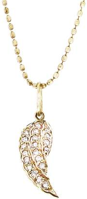 Sydney Evan Small Diamond Wing Necklace - Yellow Gold
