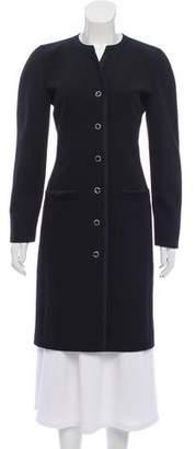 Guy Laroche Embellished Wool Coat