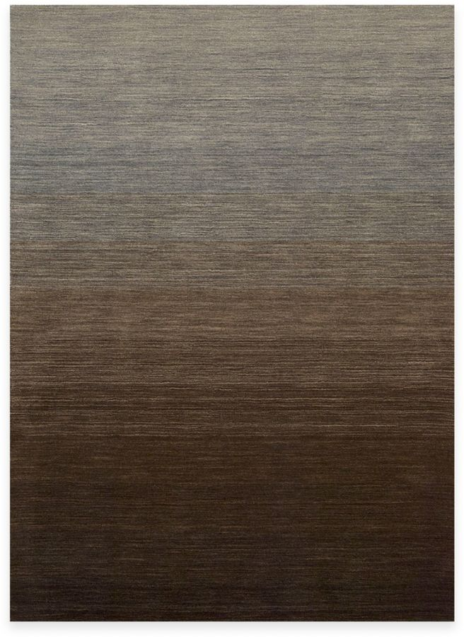Kenneth Cole Reaction Home Area Rugin Gradient Smoke