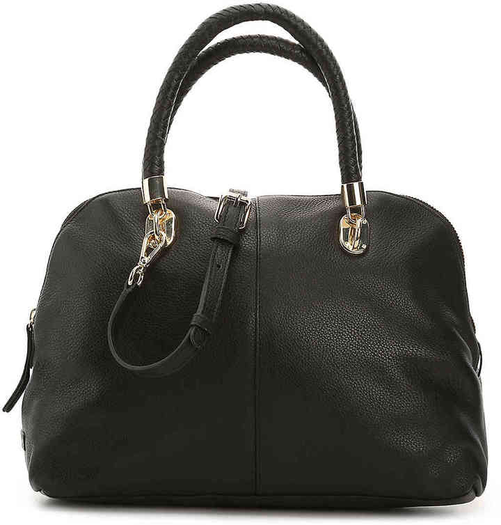 Cole Haan  Women's Benson Leather Satchel -Black