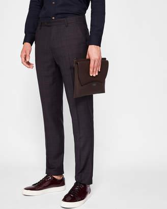 Ted Baker CONCORT Debonair check suit trousers