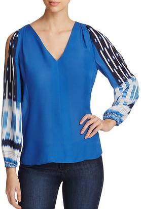 Kobi Halperin Sahara Silk Blouse $368 thestylecure.com