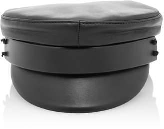 Ruslan Baginskiy Hats Leather Baker Boy Cap