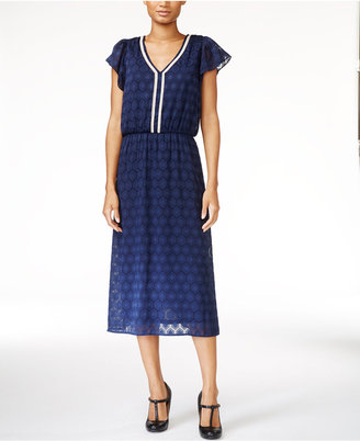 Maison Jules Flutter-Sleeve A-Line Dress, Only at Macy's $79.50 thestylecure.com