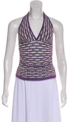Missoni Knit Halter Top