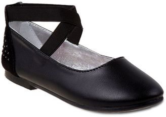 Rugged Bear Girls' Ankle Strap Ballet Flats $24.99 thestylecure.com