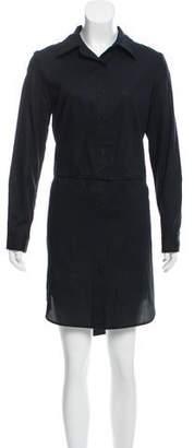 Milly Long Sleeve Shirt Dress