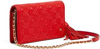 Tory Burch FLEMING FLAT WALLET CROSS-BODY