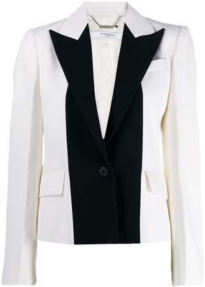 Givenchy two tone tailored blazer