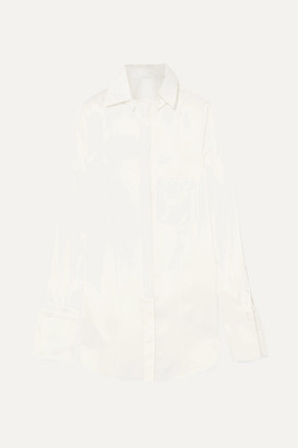 Peter Do - Convertible Tencel-blend Shirt - White