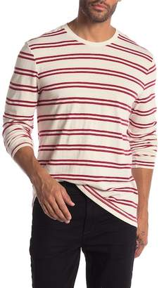 Public Opinion Stripe Long Sleeve Tee