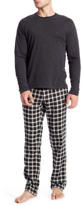 UGG Steiner Plaid Print 2-Piece Pajama Gift Set