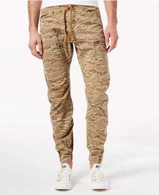G Star G-Star Men's Powel Qane Camouflage-Print Cargo Joggers, Created for Macy's