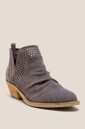 Report Dakota Scrunch Ankle Boot - Blue