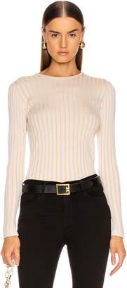 Equipment Saviny Sweater in Natural White & Beige | FWRD