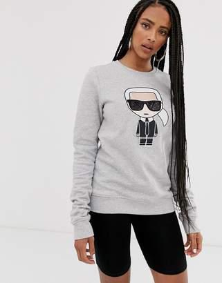 Karl Lagerfeld Paris ikonik sweatshirt