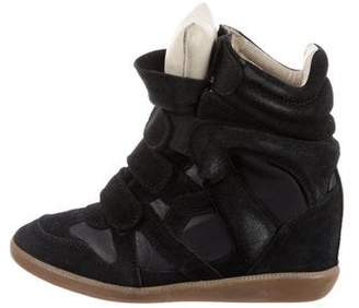 Isabel Marant Étoile Beckett Wedge Sneakers