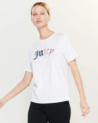 Juicy Couture Mixed Gothic Short Sleeve Tee
