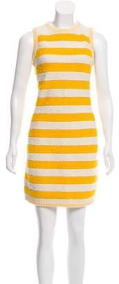 Sonia Rykiel Striped Bouclé Dress