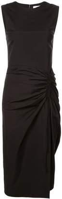 Carolina Herrera gathered front pencil dress