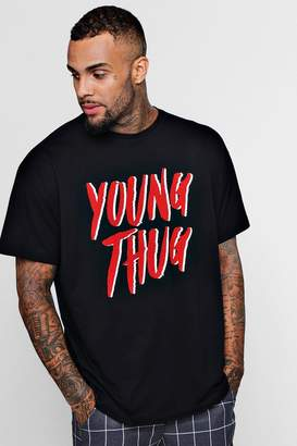 Oversized Young Thug Type License T-Shirt