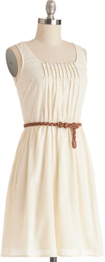 Rules of Strum Dress in Cream