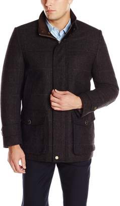 Vince Camuto Men's Shetland Wool Car Coat