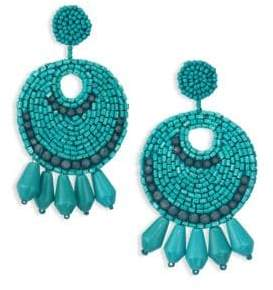 Kenneth Jay Lane Sunburst Drop Earrings