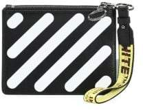 Off-White Diagonal Double Flat Pouch