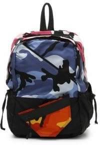 Valentino Nylon Camouflage Back Pack