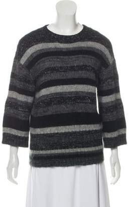 Chanel Medium-Weight Cashmere & Mohair Sweater Grey Medium-Weight Cashmere & Mohair Sweater