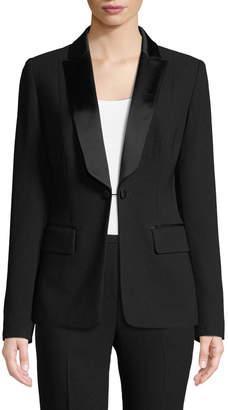 Lorelei One-Button Tuxedo Jacket