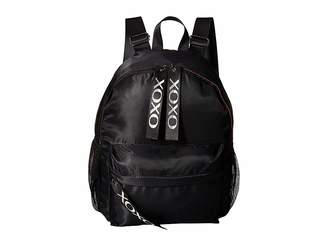 XOXO Nylon Backpack w/ Logo Webbing Backpack Bags