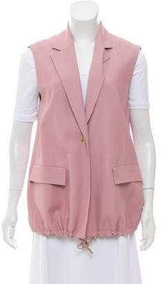Acne Studios Notch-Lapel Rani Vest