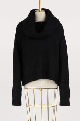 Acne Studios Turtleneck wool and mohair sweater