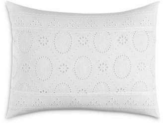 Tommy Bahama Siesta Key Eyelet Breakfast Pillow, 12 x 16