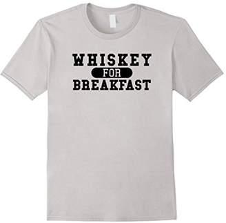 Funny Bar Hopping T-Shirt - Whiskey For Breakfast Tee